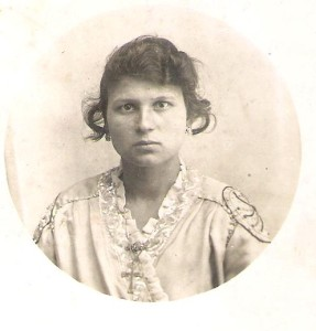My grandmother, Maria Tuttolomondo, likely around the time she emigrated from Sicily to America
