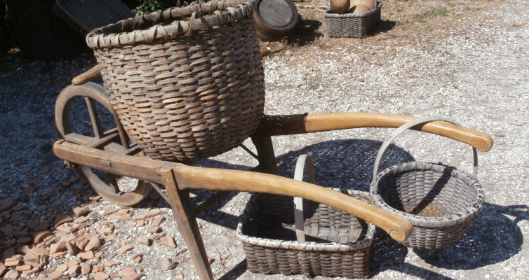 Garden equipment... colonial style!