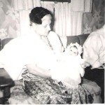 My grandmother and me....is she infusing me or what?  :)