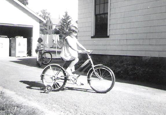 Mom hadn't just given me love.....there was also this banana bike on my 7th birthday!