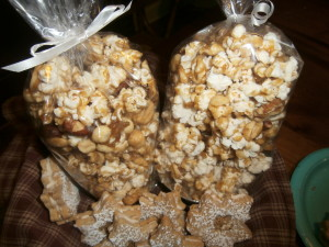 My other entries: maple glazed popcorn and shortbread crunch cookies