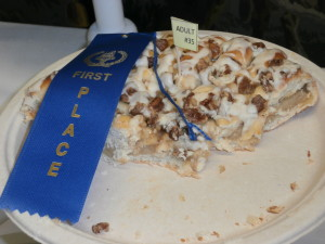 Blue Ribbon winner at the Genesee Country Museum: 2013