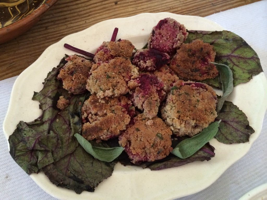 breaded beets