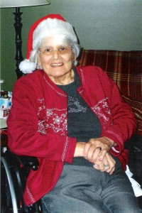 6 years later, Mom's last Christmas.