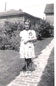 My Aunt Florence who had grown up on the same cookies I had!