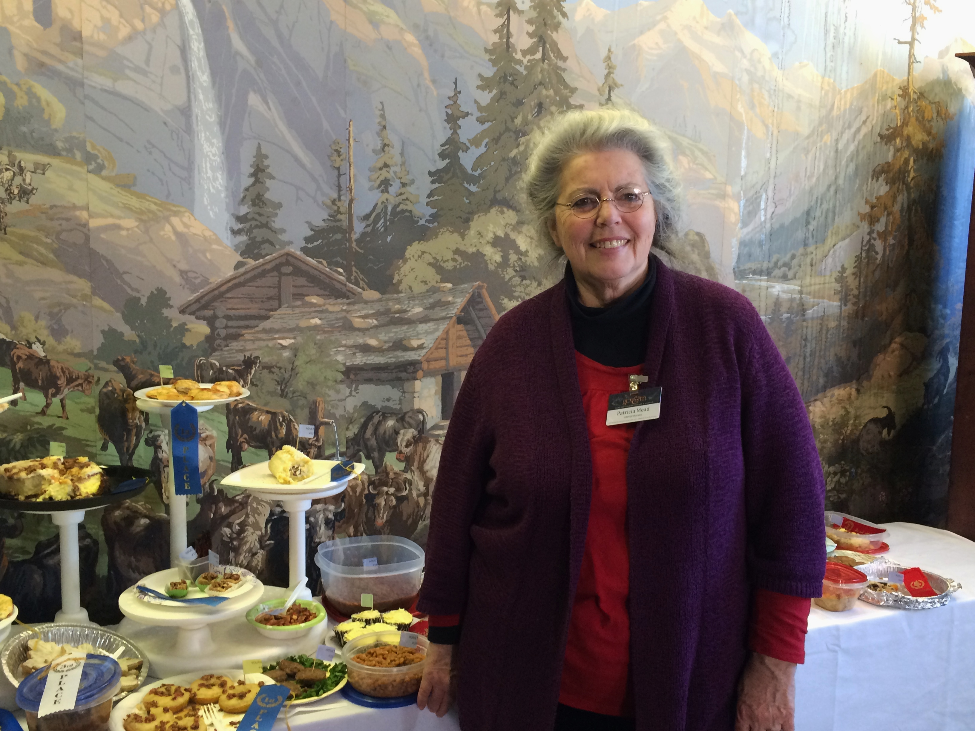 Meet Pat Mead who heads the Food Ways program at the village!
