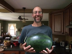 OK, so we ended up with a 20 pound watermelon instead.....we still feasted!!