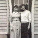 Mom and Aunt Florence in the 50s