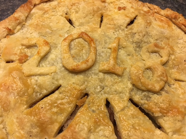 This was the perfect pie to ring in the new year!